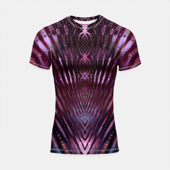 Thumbnail image of Divinite Purple Shortsleeve rashguard, Live Heroes