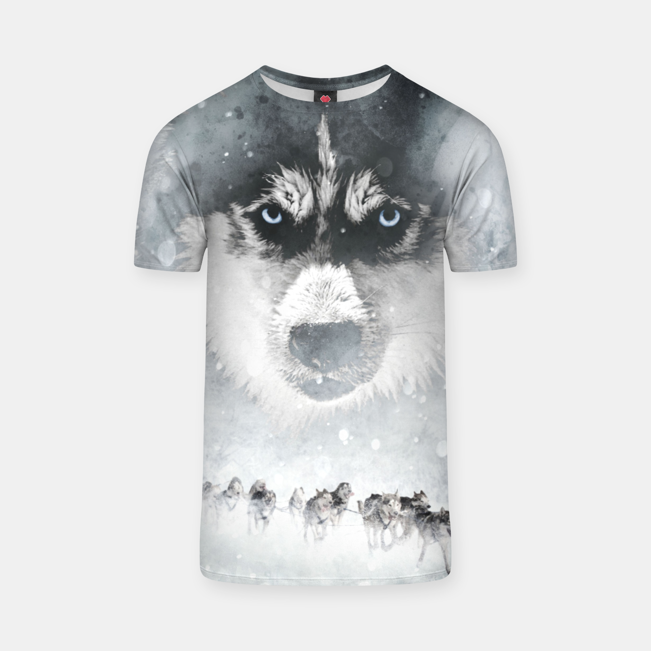 Image of Winter Huskys T-Shirt - Live Heroes