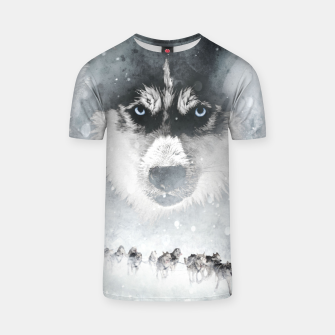 Thumbnail image of Winter Huskys T-Shirt, Live Heroes