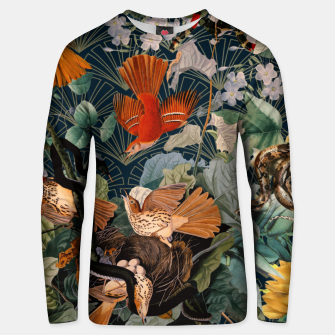 Miniatur Birds and snakes Cotton sweater, Live Heroes