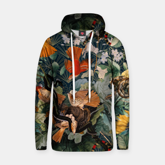 Miniatur Birds and snakes Cotton hoodie, Live Heroes