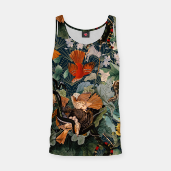 Miniatur Birds and snakes Tank Top, Live Heroes