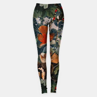 Miniatur Birds and snakes Leggings, Live Heroes