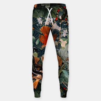 Miniatur Birds and snakes Cotton sweatpants, Live Heroes