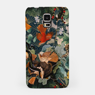 Miniatur Birds and snakes Samsung Case, Live Heroes