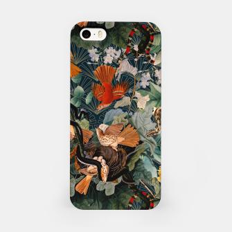 Miniatur Birds and snakes iPhone Case, Live Heroes