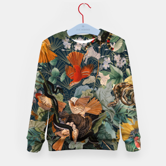 Miniatur Birds and snakes Kid's sweater, Live Heroes