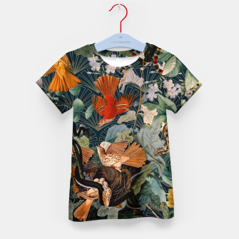 Miniatur Birds and snakes Kid's t-shirt, Live Heroes