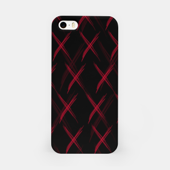 Thumbnail image of Dark pattern iPhone Case, Live Heroes