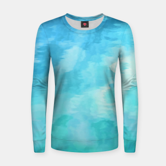 Thumbnail image of Water Fantasia |  Woman cotton sweater, Live Heroes