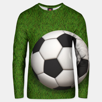 Thumbnail image of Ball Sport Soccer New Black Cotton sweater, Live Heroes