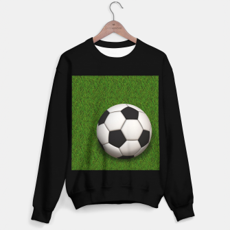 Thumbnail image of Ball Sport Soccer New Black Sweater regular, Live Heroes