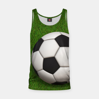 Thumbnail image of Ball Sport Soccer New Black Tank Top, Live Heroes
