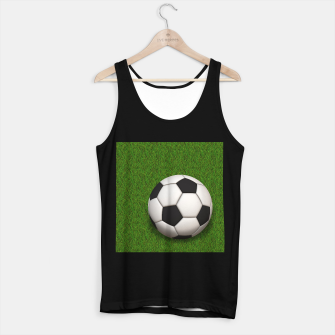 Thumbnail image of Ball Sport Soccer New Black Tank Top regular, Live Heroes