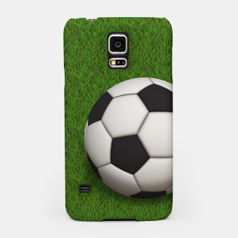 Thumbnail image of Ball Sport Soccer New Black Samsung Case, Live Heroes