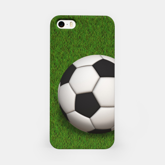 Thumbnail image of Ball Sport Soccer New Black iPhone Case, Live Heroes