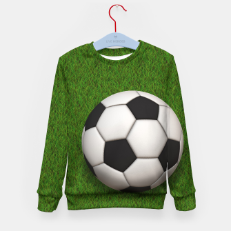 Thumbnail image of Ball Sport Soccer New Black Kid's sweater, Live Heroes