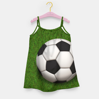 Thumbnail image of Ball Sport Soccer New Black Girl's dress, Live Heroes