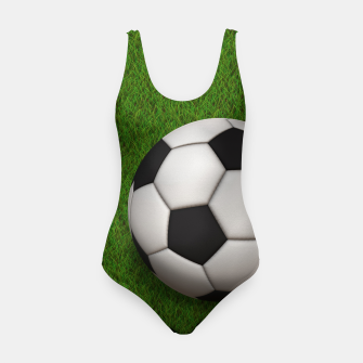 Thumbnail image of Ball Sport Soccer New Black Swimsuit, Live Heroes