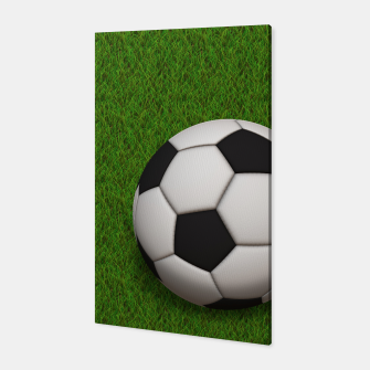 Thumbnail image of Ball Sport Soccer New Black Canvas, Live Heroes