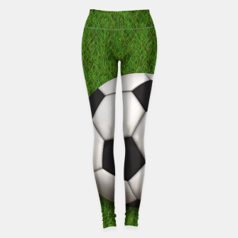 Thumbnail image of Ball Sport Soccer New Black Leggings, Live Heroes