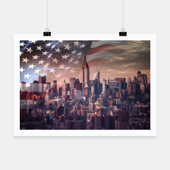Thumbnail image of New York 1 Plakat, Live Heroes