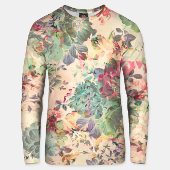 Flower Abstraction Cotton sweater Bild der Miniatur