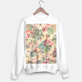 Flower Abstraction Sweater regular Bild der Miniatur