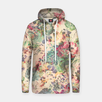 Flower Abstraction Cotton hoodie Bild der Miniatur