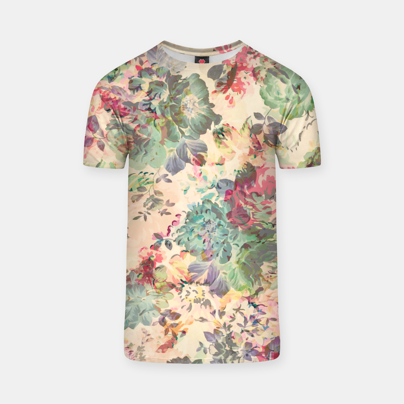Foto Flower Abstraction T-shirt - Live Heroes