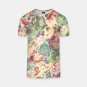 Flower Abstraction T-shirt Bild der Miniatur