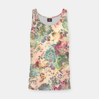 Flower Abstraction Tank Top Bild der Miniatur