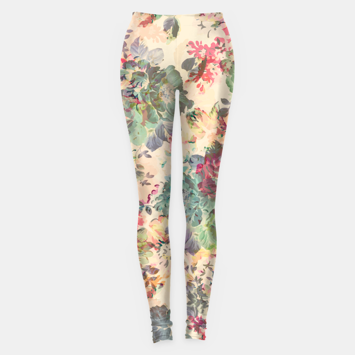 Zdjęcie Flower Abstraction Leggings - Live Heroes