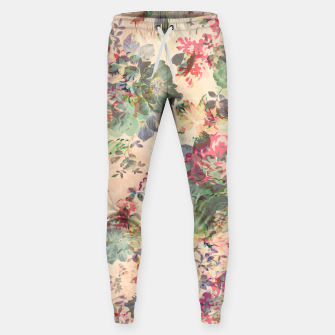 Flower Abstraction Cotton sweatpants Bild der Miniatur