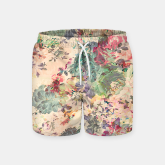 Flower Abstraction Swim Shorts Bild der Miniatur