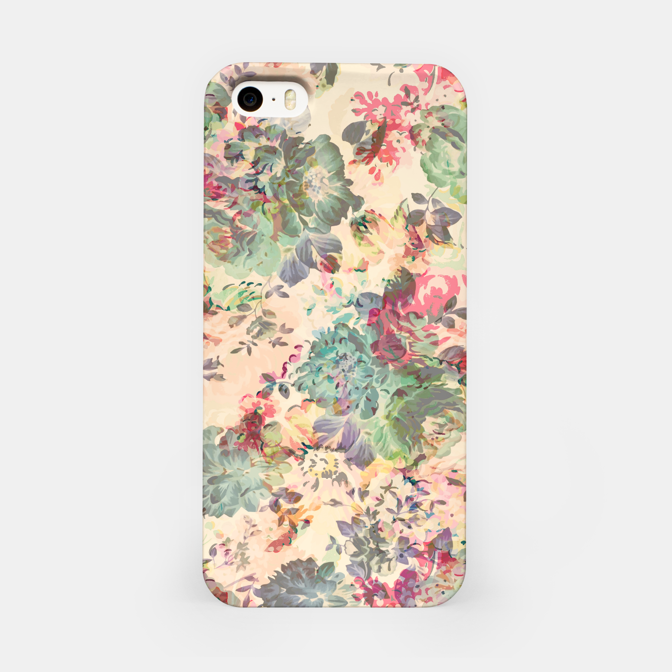 Foto Flower Abstraction iPhone Case - Live Heroes