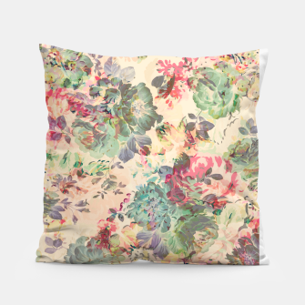 Flower Abstraction Pillow Bild der Miniatur