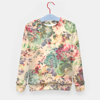Flower Abstraction Kid's sweater Bild der Miniatur