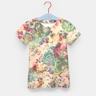 Flower Abstraction Kid's t-shirt Bild der Miniatur