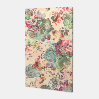 Flower Abstraction Canvas Bild der Miniatur