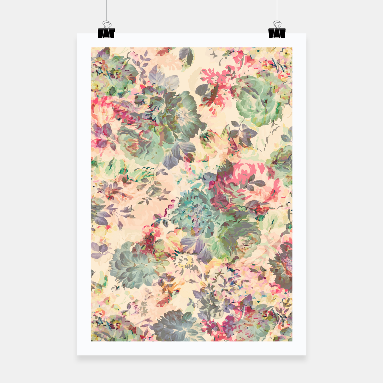 Foto Flower Abstraction Poster - Live Heroes