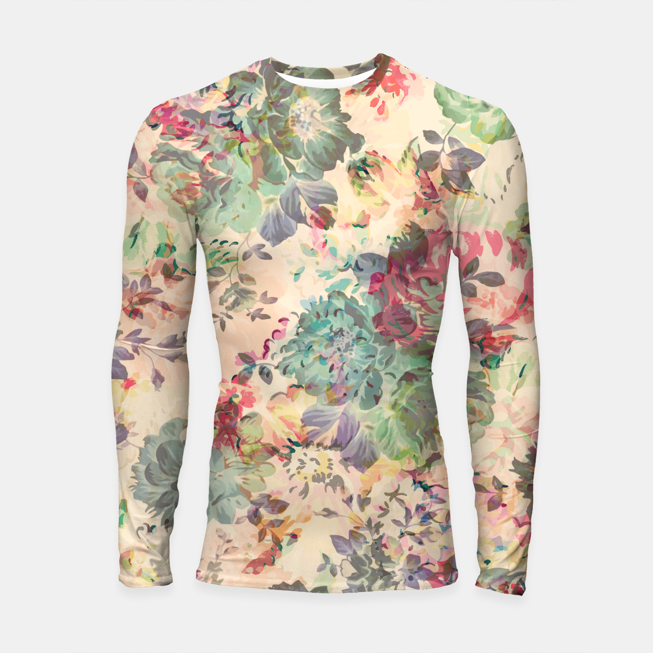 Foto Flower Abstraction Longsleeve rashguard  - Live Heroes