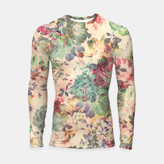 Flower Abstraction Longsleeve rashguard  obraz miniatury