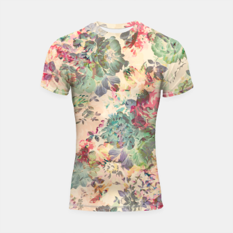 Flower Abstraction Shortsleeve rashguard Bild der Miniatur