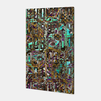 Thumbnail image of DOPE Pattern Canvas, Live Heroes