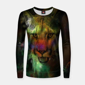 Thumbnail image of Puma Woman cotton sweater, Live Heroes