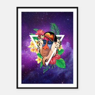 Thumbnail image of Rafiki Vibes 2 Framed poster, Live Heroes