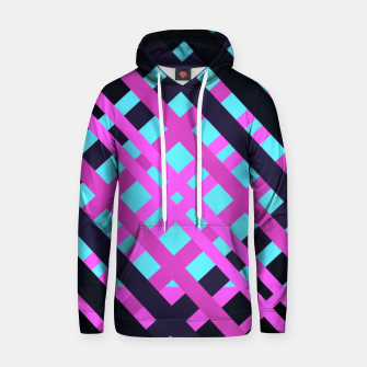 Thumbnail image of Geometric vibrant sport Cotton hoodie, Live Heroes