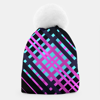 Thumbnail image of Geometric vibrant sport Beanie, Live Heroes