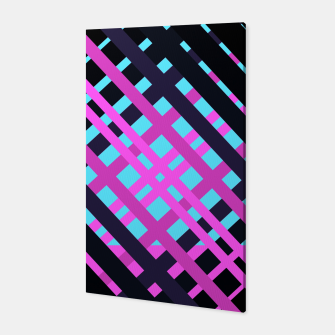 Thumbnail image of Geometric vibrant sport Canvas, Live Heroes